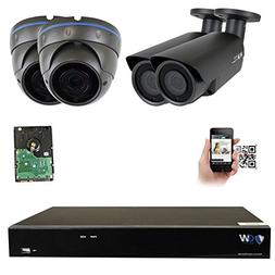 GW 8 Channel H.265 4K 8MP NVR Security System with 2 x 5MP 1