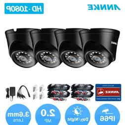 ANNKE HD 1080P Home Camera Kit Outdoor IR Security Surveilla