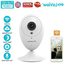 HD 1080P ONE Dot Indoor Wireless WiFi IP Home Security Surve