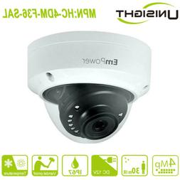HD 4MP 3.6mm Outdoor IR Dome Home Security Surveillance Came