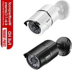 ZOSI HD 2MP 4in1 Outdoor Home 100ft Night Vision CCTV Bullet