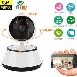 HD 720P Wireless WIFI IP Camera Outdoor Night Vision Home Se