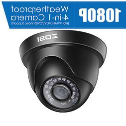 ZOSI 1080p 4in1 HD CCTV Home Surveillance Security Camera Ou