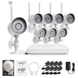 Zmodo 4 720p WiFi Outdoor Home Wireless IP Security Camera S