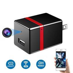 Facamword Hidden Camera - 1080P WiFi Spy Camera - Wireless U