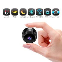 Hidden Camera Mini Spy Camera, Closeye Full HD 1080P Wireles