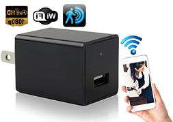 Hidden Security Camera Wall Charger - Cutting-Edge Nanny Cam