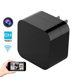 Hidden Spy Camera, 1080P Home Security Mini Camera USB Charg