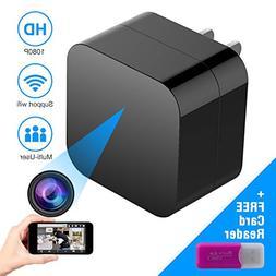 Corprit WiFi Spy Camera - Hidden Camera - HD 1080P USB Charg