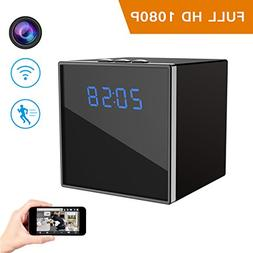 Hidden Spy Camera, Corprit Wireless Clock Nanny Cam HD 1080P