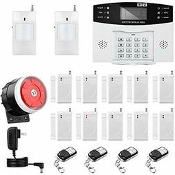 Home Security Systems Thustar Alarm Wirelss GSM Kit Remote C