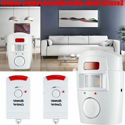 Home Alert 2 Remote Control Wireless Detector Security Anti-