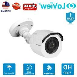 LaView HD 720p Indoor/Outdoor Night Vision CCTV Security Sur