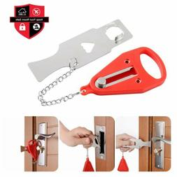 home door lock hardware portable tool safety