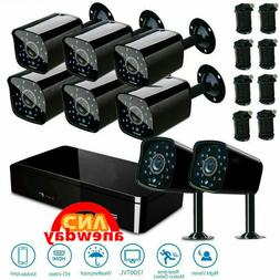 Home Outdoor/Indoor Surveillance Security Camera 8CH 1080P C
