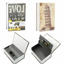Home Security Dictionary Book Safe Cash Jewelry Storage Comb