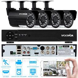 KKmoon 720P Home Security Surveillace DVR Kit 4CH CCTV DVR S