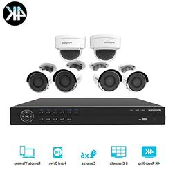 LaView LV-KNG968E86G8D8-T3 HD 8 Channel 4K Business & Home N