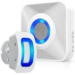 Fosmon 500ft Home Security Wireless Driveway Alarm Door Bell