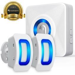 Home Security Wireless Driveway Alarm Doorbell Garage  Detec