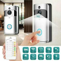 Home Security Wireless Ring DoorBell Cam Real-Time Video 2-W