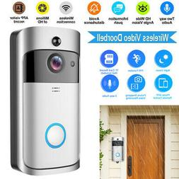 Home Security WiFi Wireless DoorBell Cam Real-Time Video 2-W