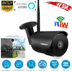 Home Security Wireless WIFI IP Camera 1080P Motion Alert Vid