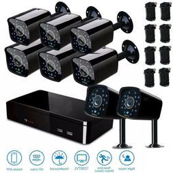 Home Surveillance Security Camera 8CH 1080P CCTV DVR System