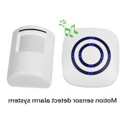 Home Wireless Security Doorbell PIR Motion Infrared Sensor D