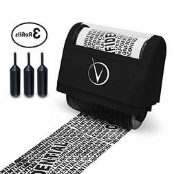 Vantamo Identity Theft Protection Roller Stamp Wide Kit, Inc