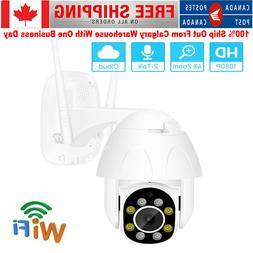 IP66 Outdoor 1080P WiFi IP Camera Wireless CCTV HD PTZ Home