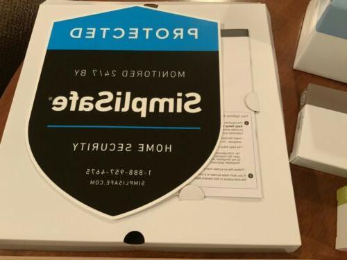SimpliSafe 10-Piece Wireless Home Security System, Alarm, Motion Sensor NEW!