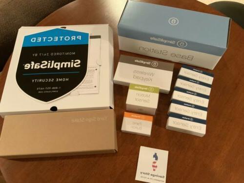 10 piece wireless home security system alarm