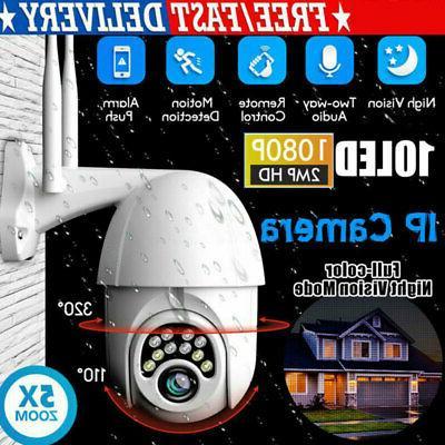 Home Security Camara WiFi Surveillance Cameras Outdoor PTZ 1