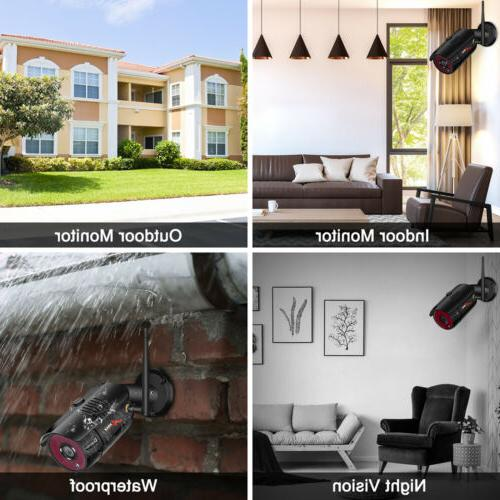1080P HD Outdoor Security System Wireless CCTV Camera