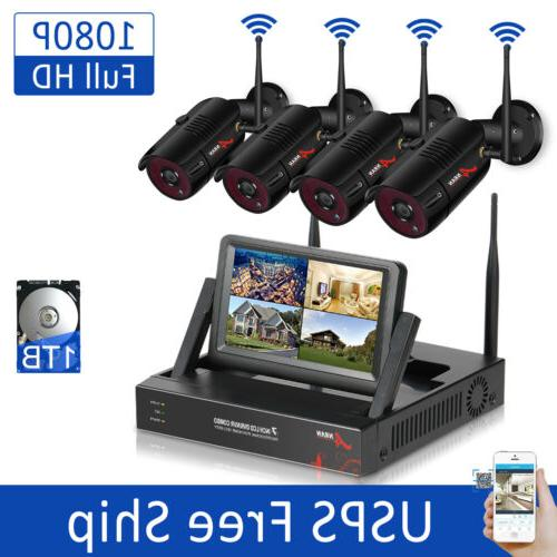 1080p hd outdoor home security system wireless