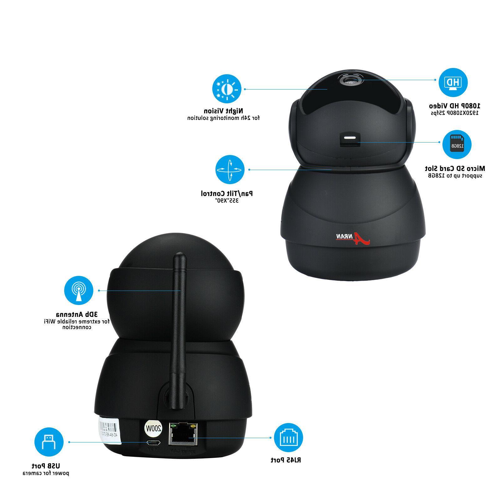 ANRAN HD Camera Home System Smart Audio CCTV