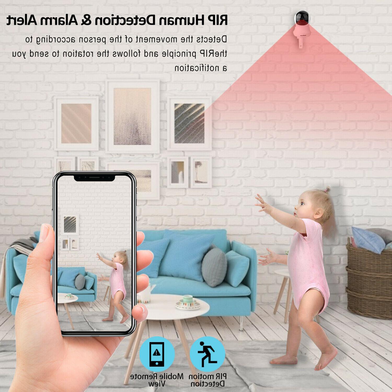 Wireless IP HD Smart Camera Monitor Night 1080P
