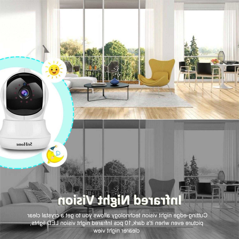 Wireless WIFI HD Smart Camera Night Vision 1080P