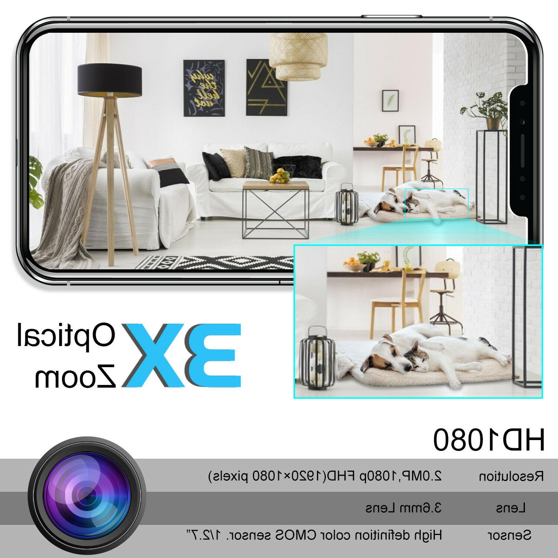 Wireless WIFI IP HD Smart Home Camera Monitor 1080P