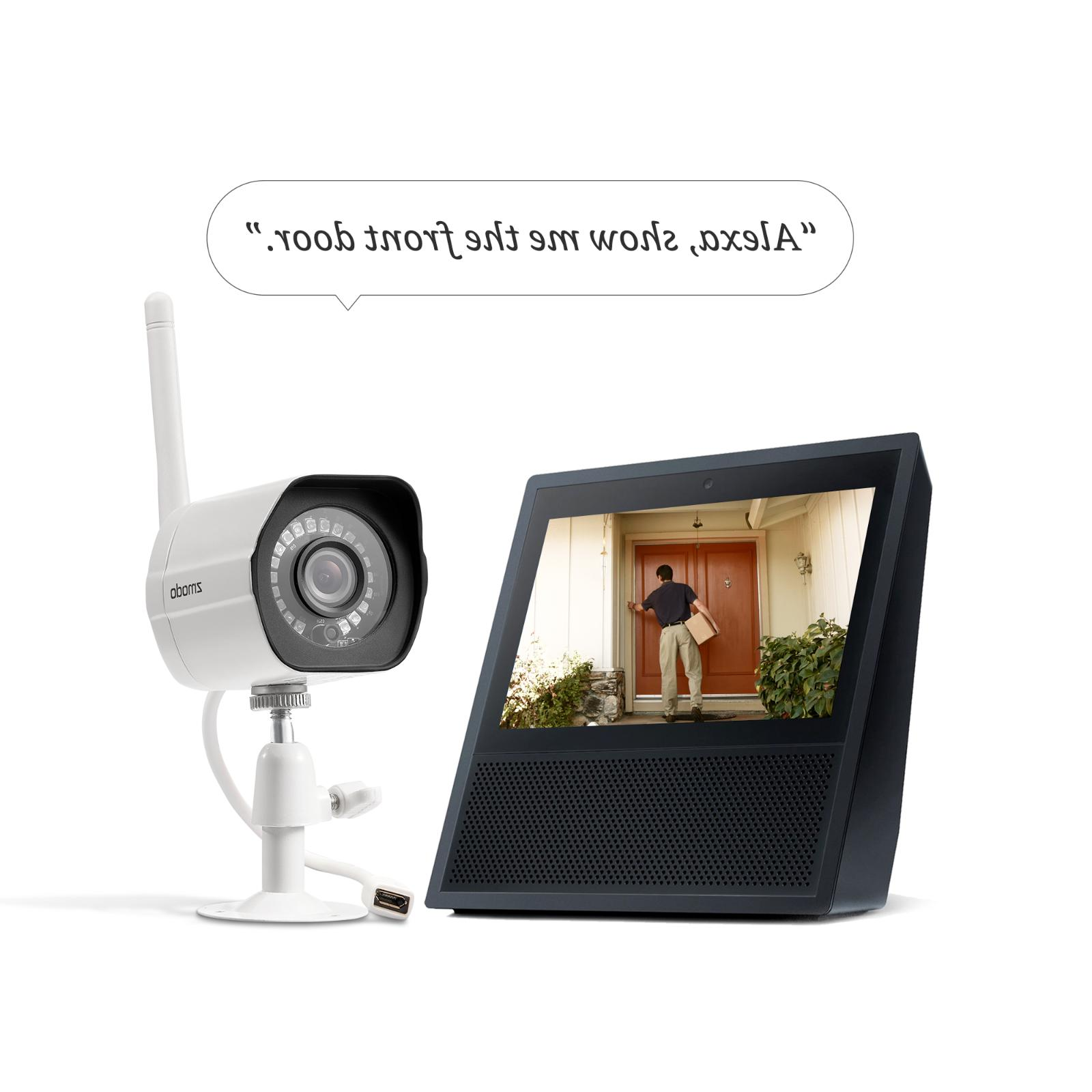 Zmodo HD Surveillance Camera System Home