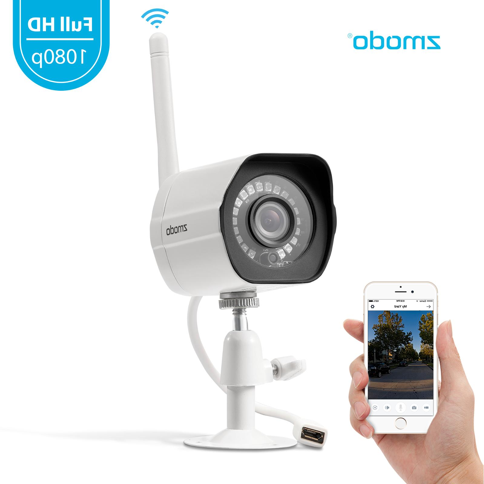1080p wireless outdoor home security camera night