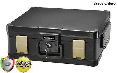 Honeywell Safes & Door Locks – Hour Fire Safe Waterproof Box Chest Handle, 1104