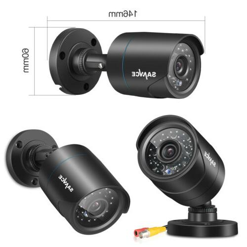 SANNCE Security Camera Outdoor Night Vision