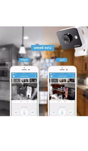 Zmodo Pack HD Indoor Security Camera Night Vision Audio
