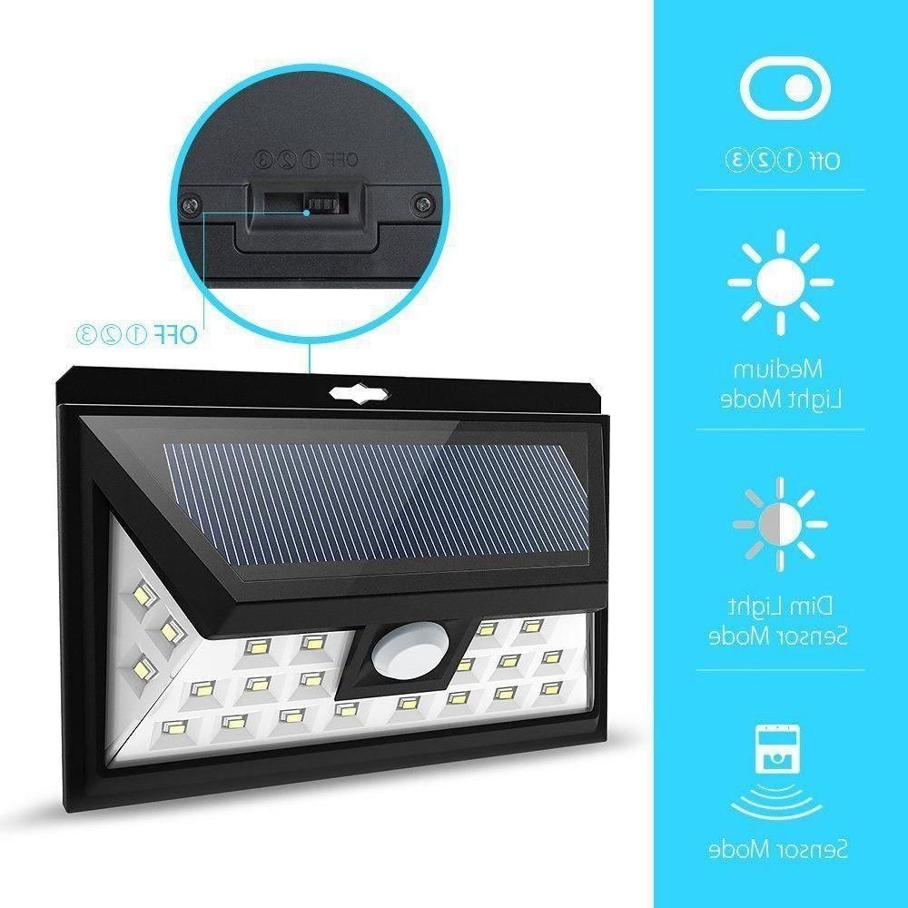24 LED Solar Light Lamp Outdoor Waterproof Motion Sensor <font><b>Security</b></font> Light Hallway Solar Led Para