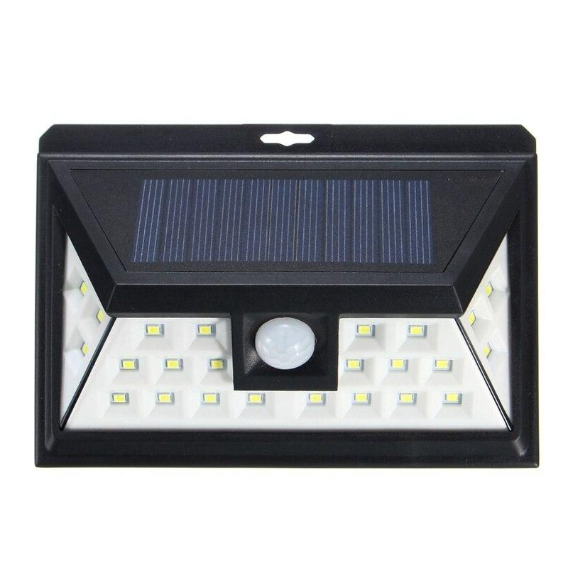 24 LED Light Lamp Waterproof Sensor Light <font><b>Home</b></font> Hallway Solar