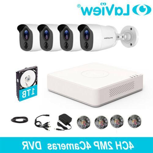 4 camera kit 1080p 4 ch ip67