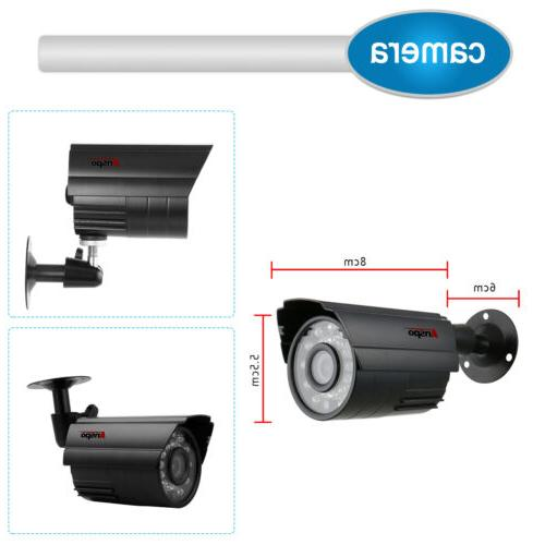 Anspo 4in1 HD CCTV Security Surveillance System