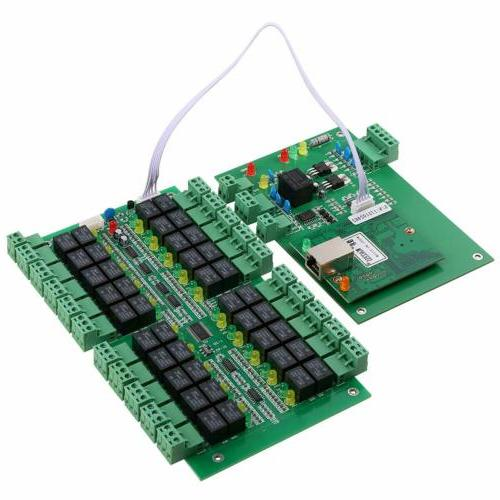 20-Channel Access Control System with